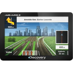 GPS Automotivo Aquarius Discovery Channel MTC2420 4,3 ""