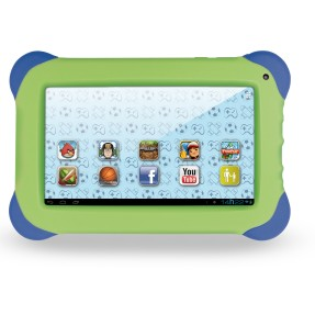 "Tablet Multilaser Kid Pad 4GB TFT 7"" Android 4.1 (Jelly Bean) 1,3 MP NB047"