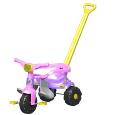 Triciclo com Pedal Magic Toys Smart Super Feminino 2561