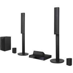 Home Theater LG com Blu-Ray 3D 1.000 W 5.1 Canais LHB645