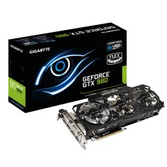 Placa de Video NVIDIA GeForce GTX 980 4 GB GDDR5 256 Bits Gigabyte GV-N980OC-4GD