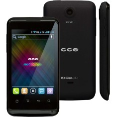 Smartphone CCE Motion Plus SK402 5,0 MP 2 Chips Android 4.0 (Ice Cream Sandwich) 3G Wi-Fi