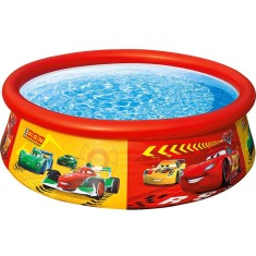Piscina Inflável 886 l Redonda Intex Easy Set Disney Carros