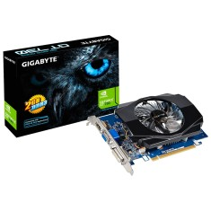 Placa de Video NVIDIA GeForce GT 730 2 GB DDR3 64 Bits Gigabyte GV-N730D3-2GI