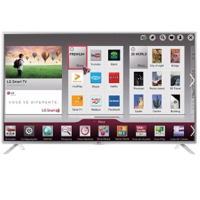 "Smart TV TV LED 42"" LG Full HD Netflix 42LB5800 3 HDMI"