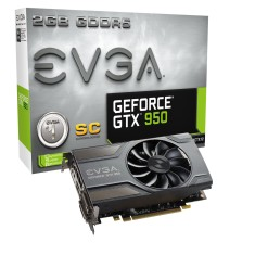 Placa de Video NVIDIA GeForce GTX 950 2 GB GDDR5 128 Bits EVGA 02G-P4-0958-KR
