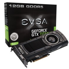 Placa de Video NVIDIA GeForce GTX Titan X 12 GB GDDR5 384 Bits EVGA 12G-P4-2990-KR