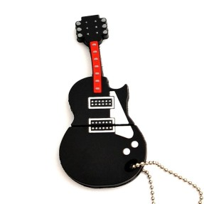 Pen Drive Importado 8 GB USB Guitarra Les Paul