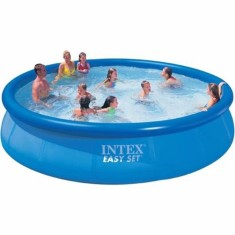 Piscina Inflável 20.647 l Redonda Intex Easy Set Standard