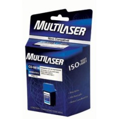 Cartucho Preto Multilaser CO020