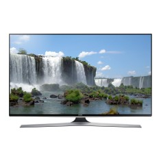"Smart TV TV LED 3D 55"" Samsung Série 6 Full HD Netflix UN55J6400 4 HDMI"