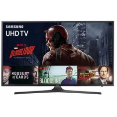 "Smart TV TV LED 60"" Samsung Série 6 4K HDR Netflix UN60KU6000 3 HDMI"
