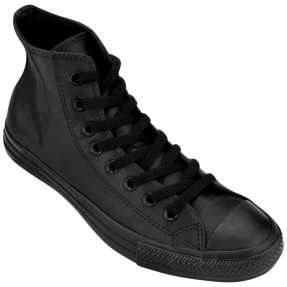 Tênis Converse All Star Unissex Casual CT As Monochrome Leather Hi