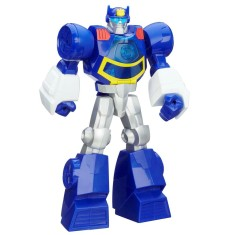 Boneco Transformers Chase The Police-Bot Rescue Bots Playskool Heroes - Hasbro