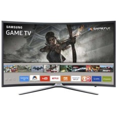 "Smart TV TV LED 49"" Samsung Série 6 Full HD Netflix UN49K6500 3 HDMI"