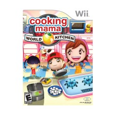 Jogo Cooking Mama: World Kitchen Wii Majesco Entertainment