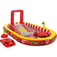Piscina Inflável 636 l Oval Intex Playground Disney Carros 57134