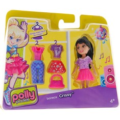 Boneca Polly Super Fashion Crissy Cbw79/CGJ03 Mattel