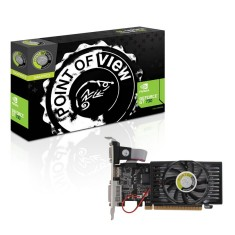Placa de Video NVIDIA GeForce GT 730 2 GB DDR3 128 Bits Point Of View VGA-730-C5-2048