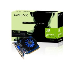 Placa de Video NVIDIA GeForce GT 730 2 GB DDR3 128 Bits Galax 73GPF8HX3SNS