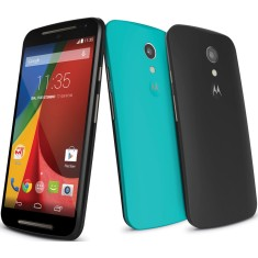 Smartphone Motorola Moto G G 2ª Geração DTV Colors TV Digital 16GB XT1069 8,0 MP 2 Chips Android 4.4 (Kit Kat) 3G Wi-Fi