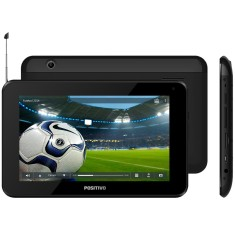 "Tablet Positivo 8GB LCD 7"" Android 4.2 (Jelly Bean Plus) 2 MP T701 TV"