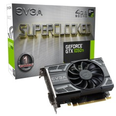Placa de Video NVIDIA GeForce GTX 1050 Ti 4 GB GDDR5 128 Bits EVGA 04G-P4-6253-KR