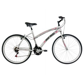 Bicicleta Mormaii 21 Marchas Aro 26 Freio V-Brake Sunset Way Plus