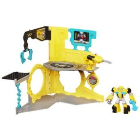 Boneco Bumblebee Rescue Repair Station - Hasbro