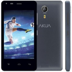 Smartphone Akua Mobile 4GB EK4 5,0 MP 2 Chips Android 4.4 (Kit Kat) 3G Wi-Fi
