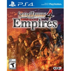 Jogo Samurai Warriors 4 Empires PS4 Koei