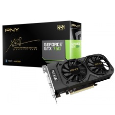 Placa de Video NVIDIA GeForce GTX 750 1 GB GDDR5 128 Bits PNY VCGGTX7501XPB-BB/RTLBX