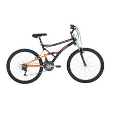 Bicicleta Mountain Bike Caloi 21 Marchas Aro 26 Suspensão Full Suspension Freio V-Brake XRT