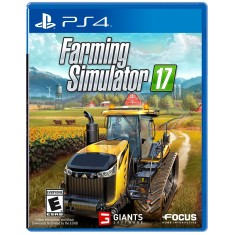 Jogo Farming Simulator 17 PS4 Focus