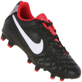 Chuteira Campo Nike Tiempo Natural IV Leather Infantil