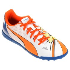 Chuteira Society Puma Evopower 4.2 Pop TT Adulto