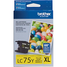 Cartucho Amarelo Brother LC75Y