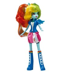 Boneca My Little Pony Equestria Girls Collection Rainbow Dash A9258 Hasbro