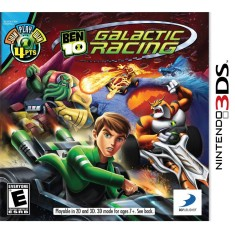 Jogo Ben 10 Galactic Racing 3DS D3 Publisher Nintendo 3DS