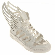 Tênis Adidas Feminino Casual Jeremy Scott Wings 2.0 Cut Out
