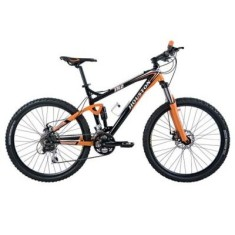Bicicleta Mountain Bike Houston 24 Marchas Aro 26 Suspensão Full Suspension Freio a Disco FR2