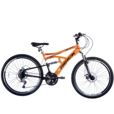 Bicicleta Mountain Bike Track & Bikes 21 Marchas Aro 26 Suspensão Full Suspension Freio a Disco TB 500