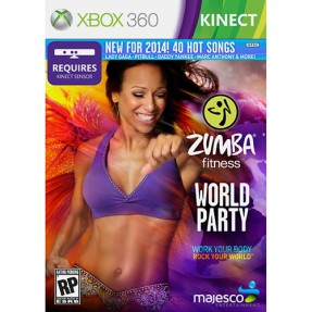 Jogo Zumba Fitness: World Party Xbox 360 Majesco Entertainment