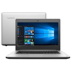 "Notebook Lenovo IdeaPad 300 Intel Core i5 6200U 6ª Geração 4GB de RAM HD 1 TB 14"" Windows 10 Home 310"