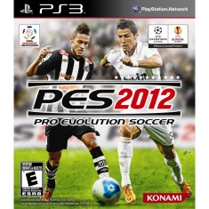Jogo Pro Evolution Soccer 2012 PlayStation 3 Konami