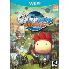Jogo Game Scribblenauts Unlimited Wii U Warner Bros