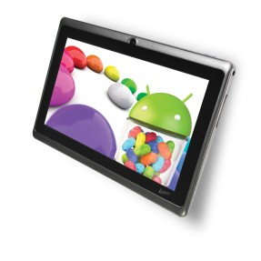 "Tablet Leadership LeaderPad 4GB LCD 7"" Android 4.1 (Jelly Bean) 7090"