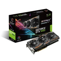Placa de Video NVIDIA GeForce GTX 1060 6 GB GDDR5 192 Bits Asus STRIX-GTX1060-O6G-GAMING