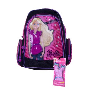 Mochila Escolar Sestini Barbie 15 Litros Barbie Glam Girl 062992