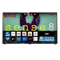 "Smart TV TV LED 43"" AOC 4K Netflix LE43U7970 4 HDMI"
